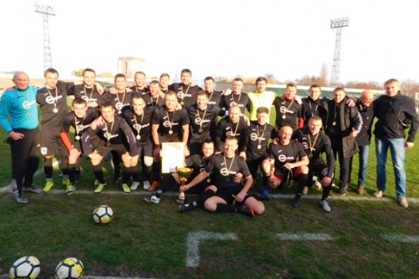 Новий чемпіон Рівненщини з футболу серед ветеранів