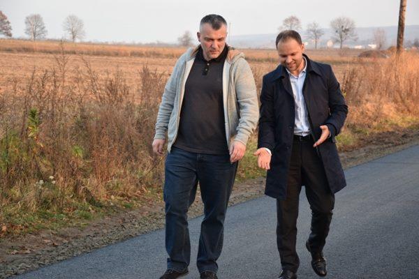 Між Малим Шпаковом і Заріцьком будують нову дорогу (Фото)