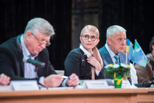 Курс оновлення України представила Юлія Тимошенко у Рівному