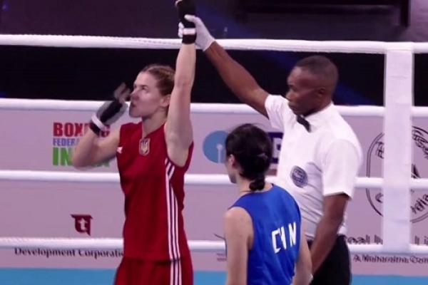 Рівненська боксерка на Чемпіонаті Світу здобула першу перемогу