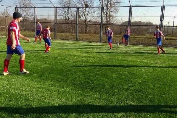 У Грушвиці  відкрили  сучасний футбольний майданчик
