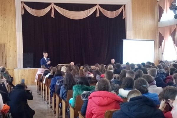 Лідер Руху «Справедливість» зустрівся зі студентами Рівненського державного гуманітарного університету