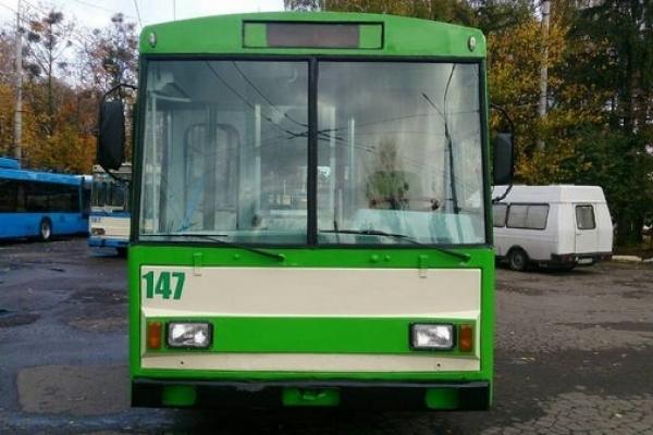 У Рівному продають тролейбуси
