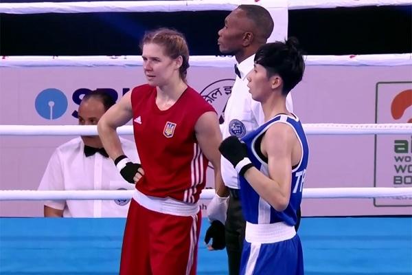 Рівненська боксерка припинила боротьбу на Чемпіонаті Світу
