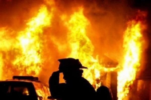 На Млинівщині сталася пожежа