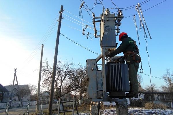 На Володимиреччині провели капітальний ремонт електропостачання (Фото)