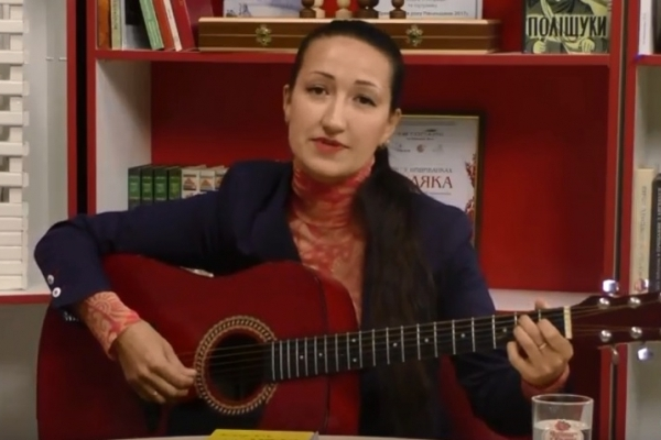 Рівненська письменниця поділилася секретами перекладної літератури (Відео)