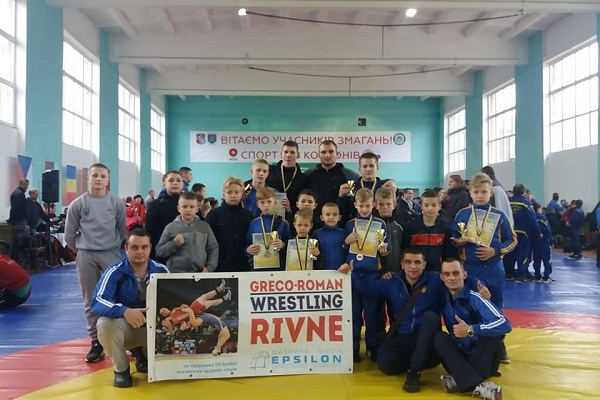 Рівненські борці перемогли на Міжнародному турнірі