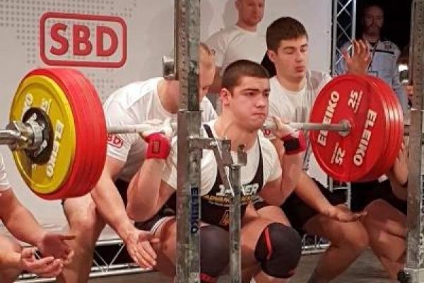 Новий світовий рекорд встановив вихованець спортивної школи РАЕС
