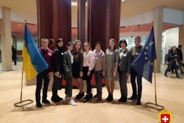 Юні радивилівці  завітали в Страсбург