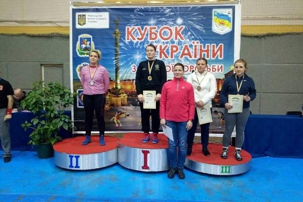 Рівнянка друга на Кубку України з вільної боротьби