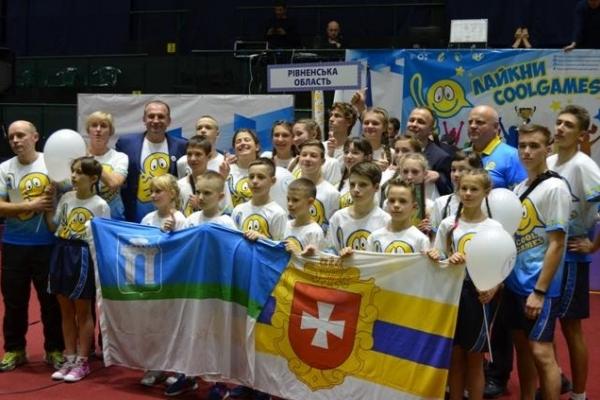 Школярі з Рівненщини тріумфально перемогли у «Крутих іграх-2018» (Фото)