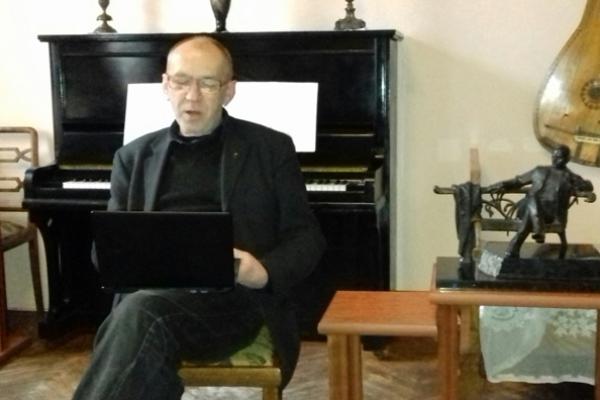 В гостях у Самчука разом з рівненськими письменниками був Ірванець