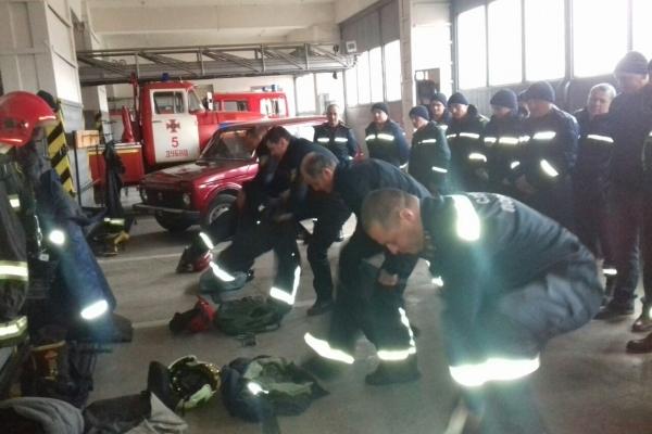 У місті Дубно триває перевірка готовності рятувальників (Фото)