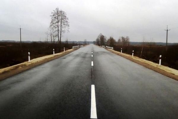 Ремонт дороги, яка з'єднує Україну з Білоруссю, на Рівненщині завершили  (Фото)