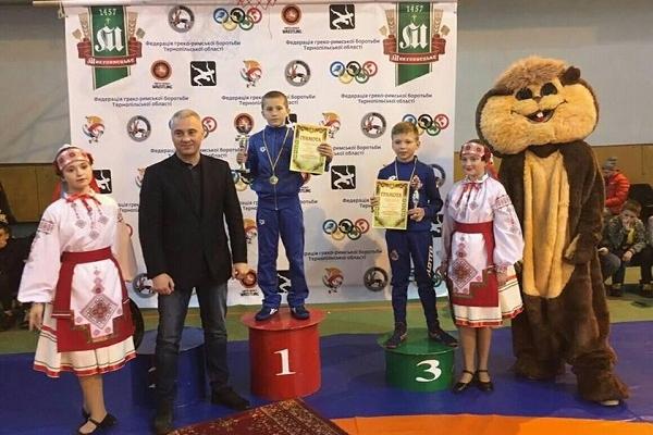 Рівненські борці піднялися на п'єдестал Міжнародного турніру