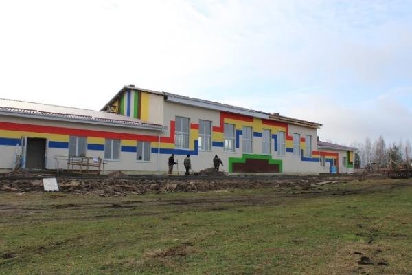 На Поліссі будують багатофункціональний спорткомплекс