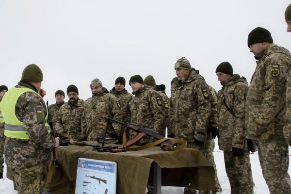 На Рівненському полігоні офіцери підрозділів територіальної оборони вдосконалюють свої навички