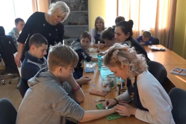 До Рівненського центру профтехосвіти завітали учні «Особливої дитини» (Відео)
