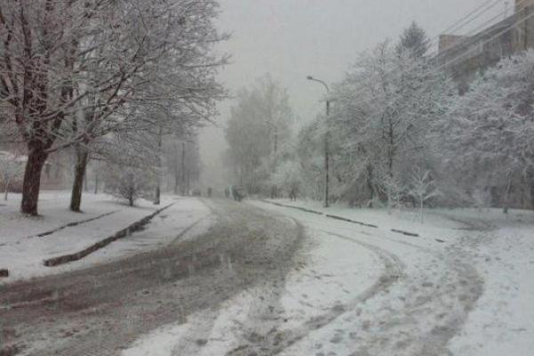В понеділок, 17 грудня,  на Рівненщині складні погодні умови