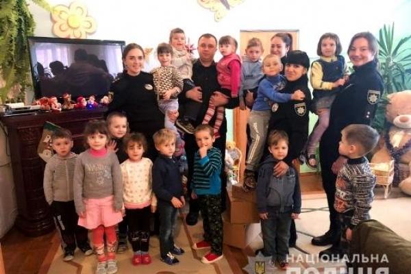 Поліцейські завітали до вихованців Рівненського реабілітаційного центру