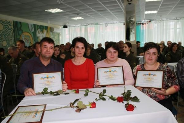 На Рівненській АЕС 17 нацгвардійців отримали сертифікати на житло