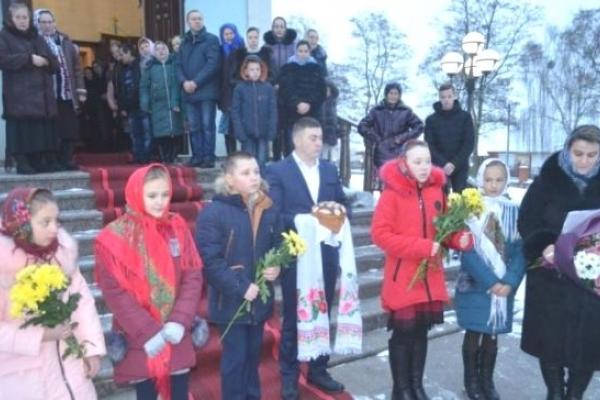 На Поліссі найшановнішим святим є Миколай Чудотворець