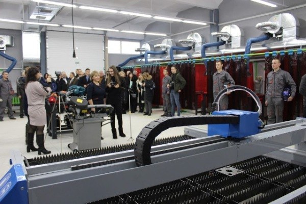 У Квасилівському професійному ліцеї відкрили Центр сучасних зварювальних технологій