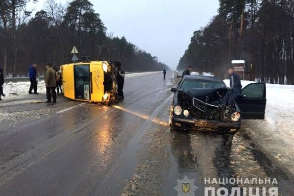 У Клевані в ДТП травмувалася пасажирка (Фото)
