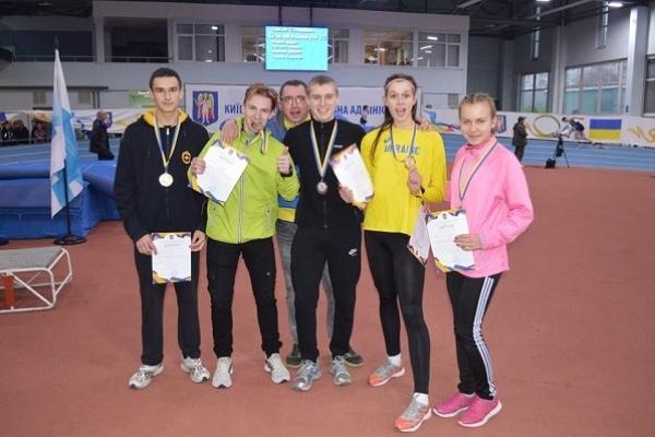 Рівненські легкоатлети завоювали у столиці 11 медалей
