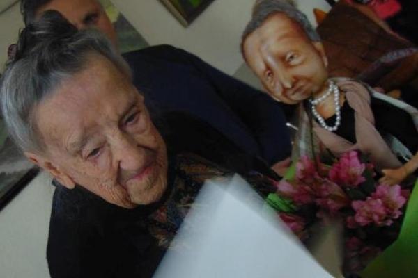 Як вчора у Рівному дочку європейського художника вітали з 95-річчям