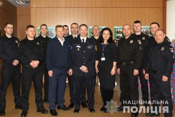 Тренінговий центр поліції Рівненщини отримав допомогу від КМЄС (Фото)