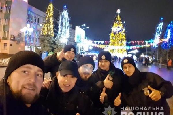 Новорічна ніч на Рівненщині минула без грубих правопорушень