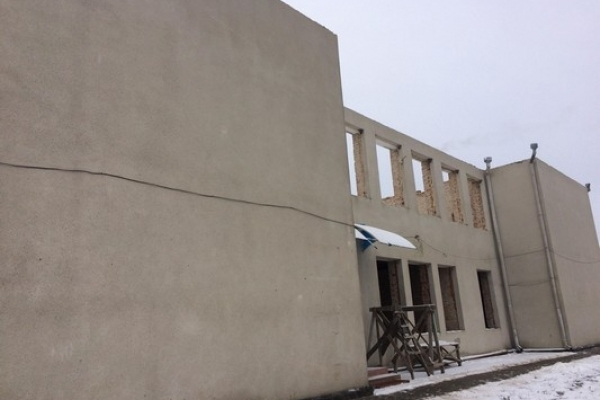 На Рівненщині добудовують навчальний заклад (Фото)