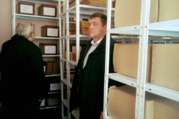 Дубровицький архів зустрів новий  рік у новому приміщенні