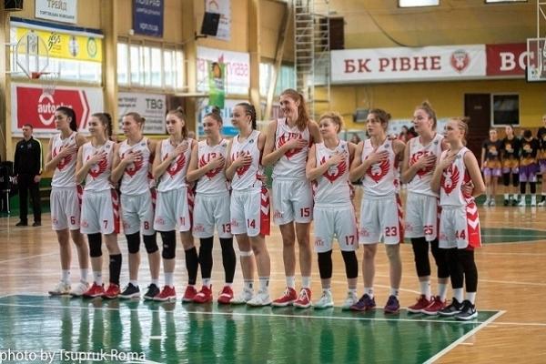 Жіноча команда БК «Рівне» на стадії чвертьфіналу припинила боротьбу за Кубок України