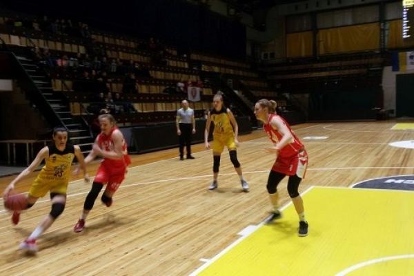 Жіноча БК «Рівне» програла чемпіонкам України