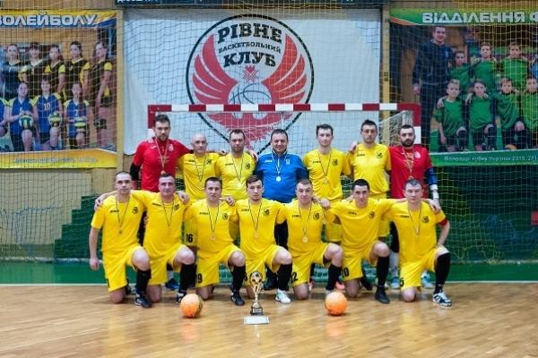 «Славія» вшосте поспіль Чемпіон Рівного з футзалу