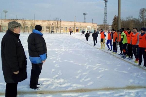 Зимова першість — лише на «Авангарді»