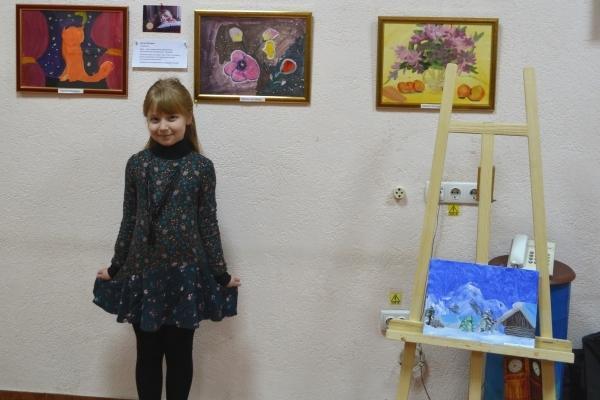 Першу виставку дитячої художньої творчості відкрили у Рівному