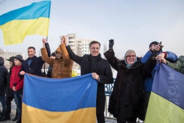 Валентин Наливайченко: «Сьогодні ми об'єднуємося заради перемоги. І в єдності – наша сила» (Відео)
