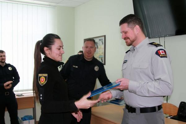 Рівненських правоохоронців навчали представники Канадської поліцейської місії (Фото)