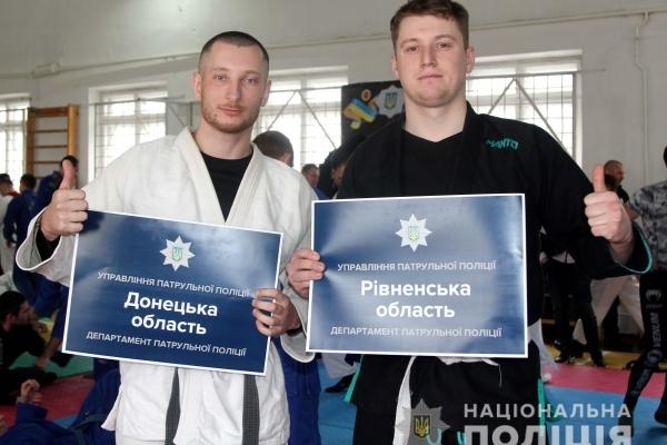 Чемпіонат України з джиу-джитсу серед поліцейських стартував у Рівному (Фото, відео)