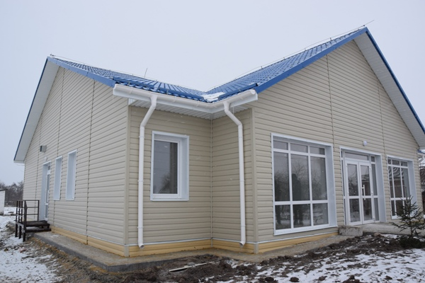 У Заборолі Рівненського району збудували сучасну лікарську амбулаторію