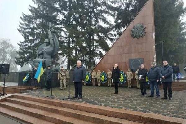 У Рівному вшанували 75-ту річницю звільнення міста від німецьких нацистів