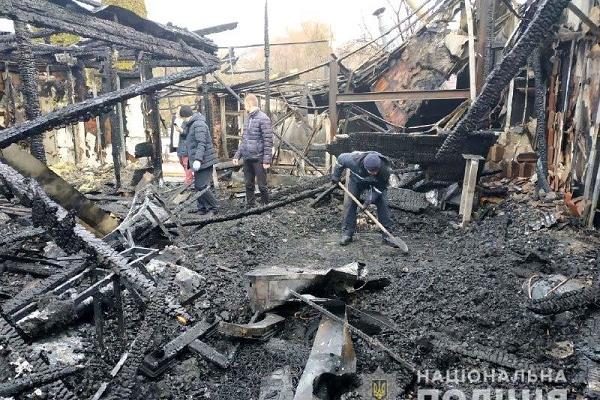 У Рівному підпалили ресторан (Фото)