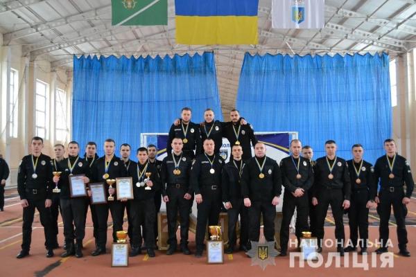Рівненські поліцейські охорони посіли призове місце з рукопашного бою (Фото)
