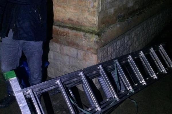 Рівненські патрульні ймовірних крадіїв затримали по гарячих слідах