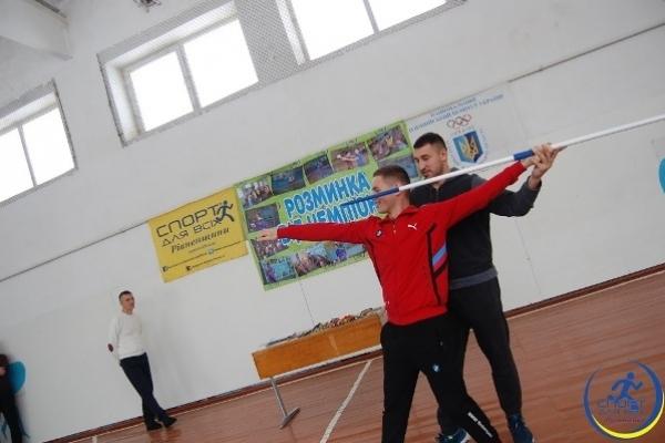 Спортивний проект «Розминка від чемпіона» завітав на Костопільщину