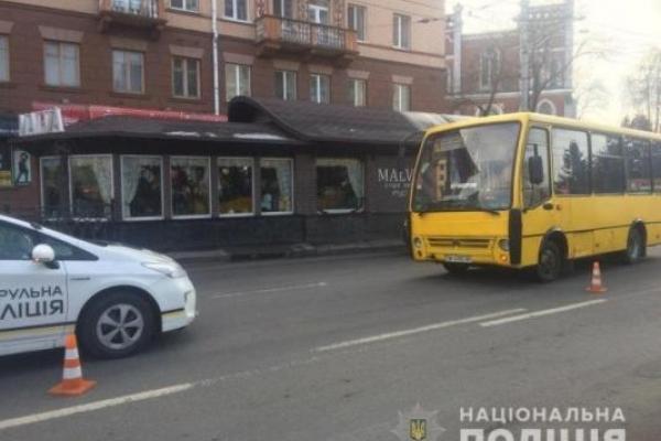 ДТП на Соборній: під колеса потрапила 31-жінка
